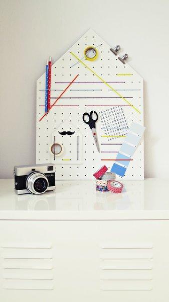 Moderne Pinnwand selber machen   Materialien und Anleitung