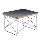 Vitra - Eames Occasional Table LTR, HPL schwarz