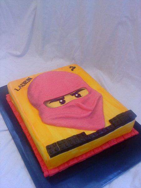 Lego ninjago torte for Ninjago zimmer deko