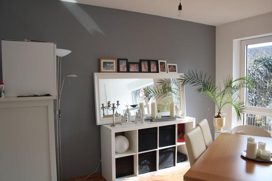 Wand Streichen Grau Rot ~ Die Neuesten Innenarchitekturideen Wohnzimmer Grau Gestalten