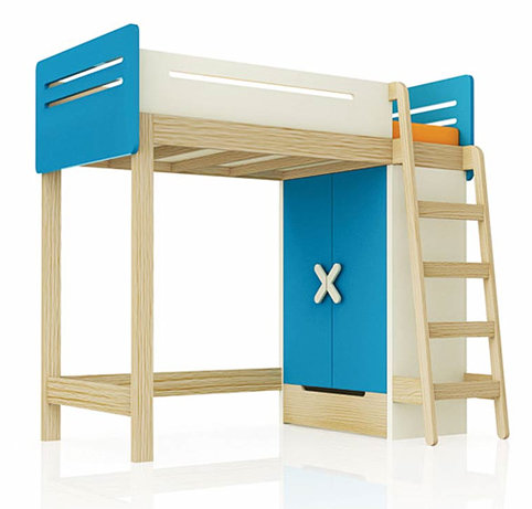 kinderhochbett das besondere schlaferlebnis f r kinder. Black Bedroom Furniture Sets. Home Design Ideas