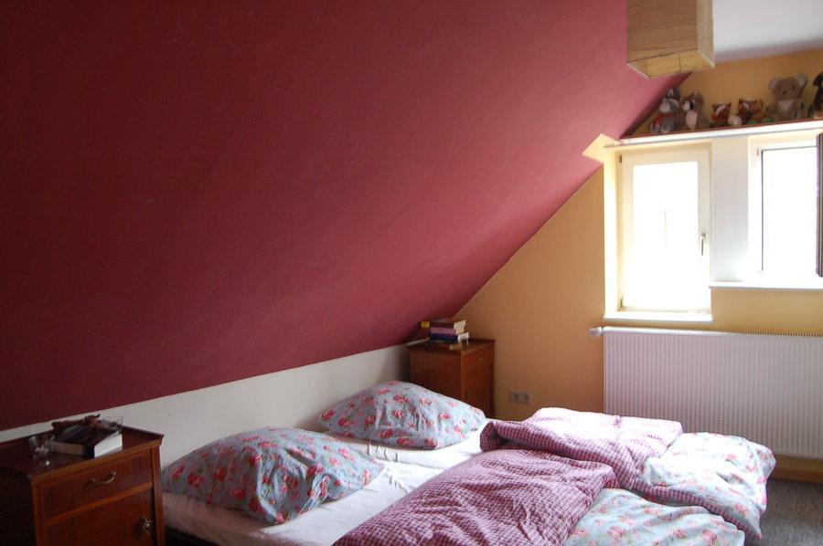 Schlafzimmer Mit Dachschräge Gestaltet ~ Kreative Bilder Für Zu