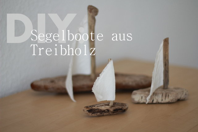 diy segelboote aus treibholz basteln. Black Bedroom Furniture Sets. Home Design Ideas