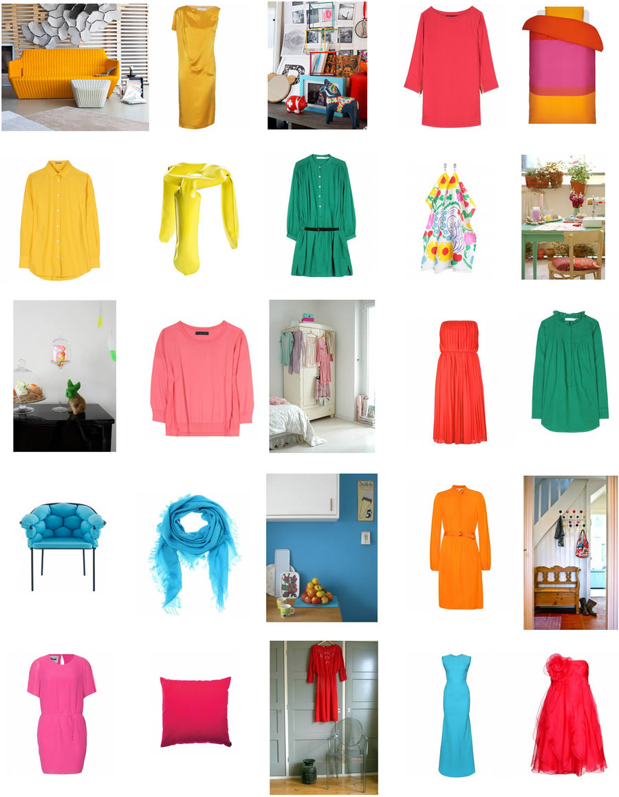 neue ideen f r die wohnungseinrichtung ein pl doyer f r den knallfarbtupfer. Black Bedroom Furniture Sets. Home Design Ideas