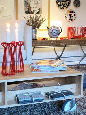 Kerzenständer und Schale....