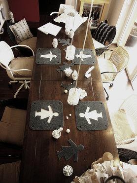 Tischsets....