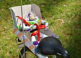 DIY Buzz-Fahrradsitz