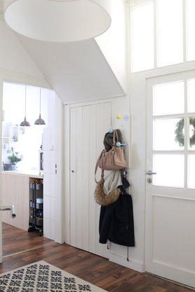 Miniwohnungs-Durchblick