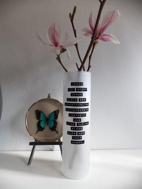 DIY Zitat-Vase