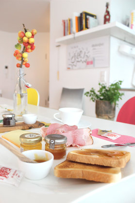 Frühstück a la Caprese
