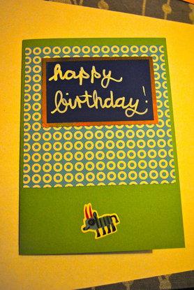 D.I.Y. Geburtstagskarten