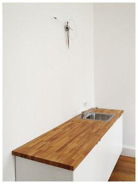 puristische ikea k che. Black Bedroom Furniture Sets. Home Design Ideas