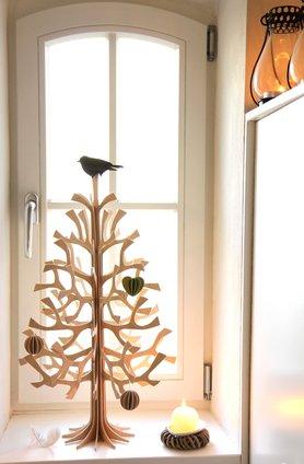 Weihnachtsbaum-Vorbote