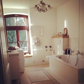 Unser DIY-Badezimmer Projekt im fertigen Zustand