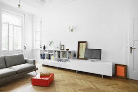 Alea Sideboard im Wohnzimmer