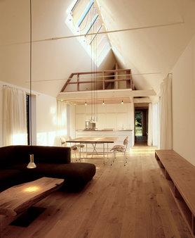 Blick durch den Wohnraum