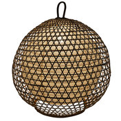 Korblampe Bambus Roundy XL