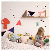 Happy Flags Peach - Happy Girlande für Girls