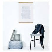 "Poster Into the Blue 01 - Poster ""Into the Blue 01"" von Menu und Paper Collective, 50x70 - designed by Quote the Future"