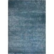 Luxus Teppich LINEN Blau