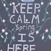 Keep calm .....