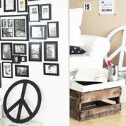 PEACE Zeichen aus Holz Teil 2, handmade