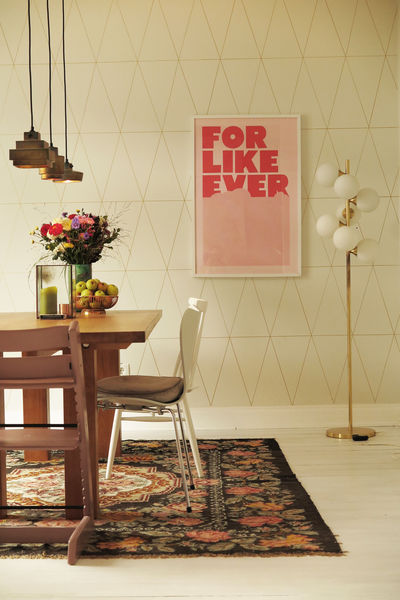 Wandgestaltung esszimmer ideen - Wandgestaltung dachschrage ...