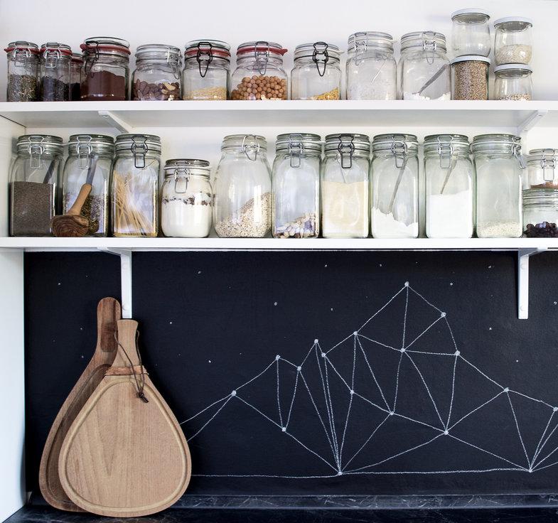 Skandinavischer Landhausstil Tapeten : Die sch?nsten Ideen mit Tafelfarbe, Tafellack und Tafelfolie