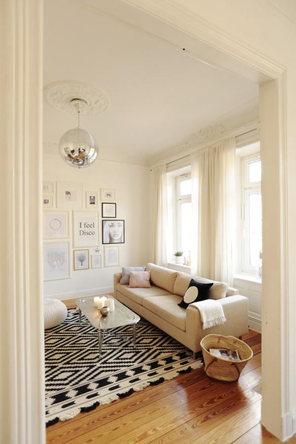 Wohnzimmer die sch nsten ideen for Raumgestaltung wandfarbe