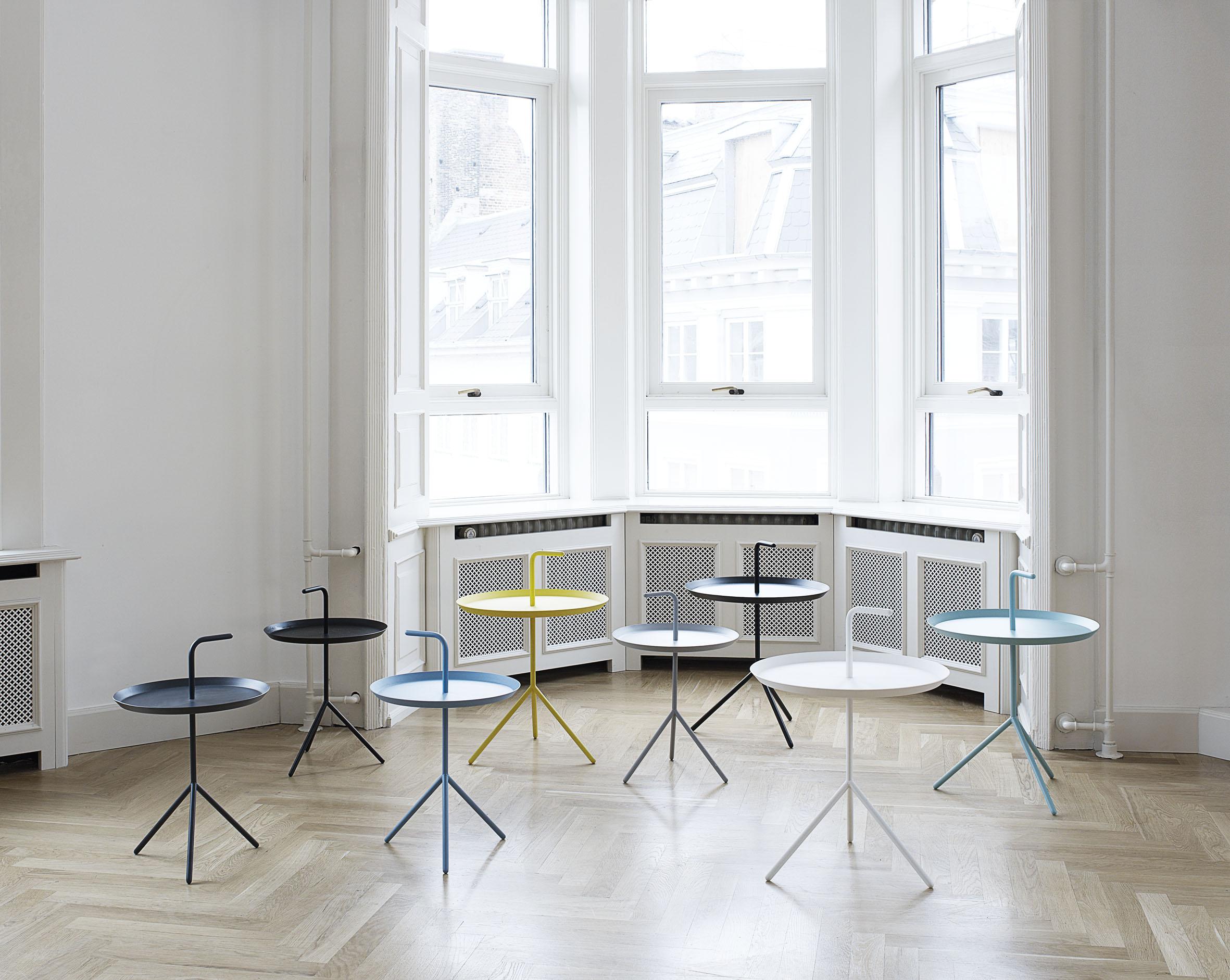 Einrichtungsideen aus Dänemark: Tragbarer Tisch? Tischtablett ...