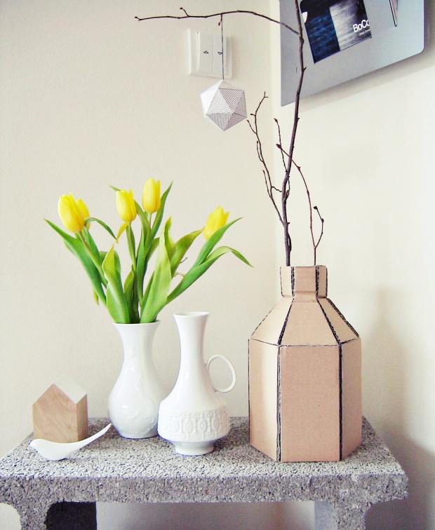 upcycling design 10 tolle diy ideen f r vasen. Black Bedroom Furniture Sets. Home Design Ideas