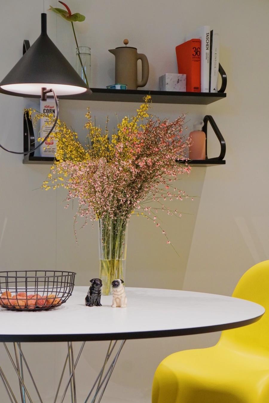 Den Panton Chair Wird Es Nur Von April Bis August In Der Gezeigten Farbe  Gelb Zu Kaufen Geben.