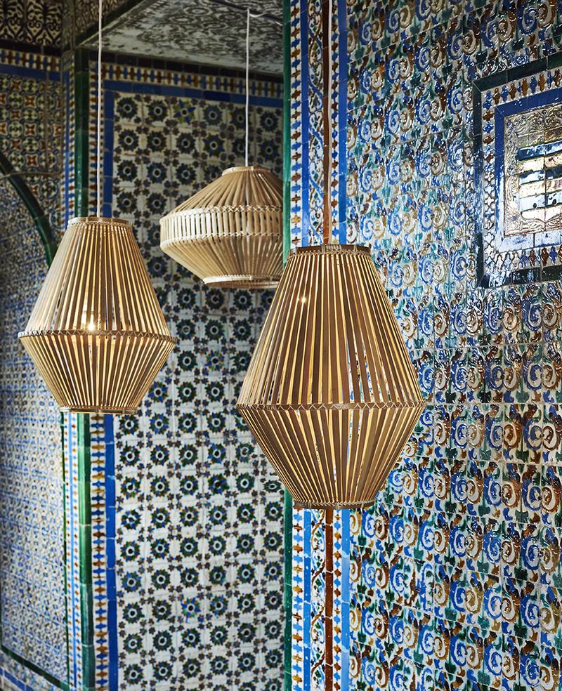 Bambus Lampenschirm Ikea