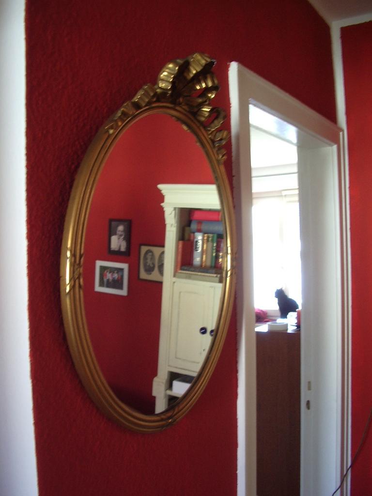 goldener spiegel. Black Bedroom Furniture Sets. Home Design Ideas