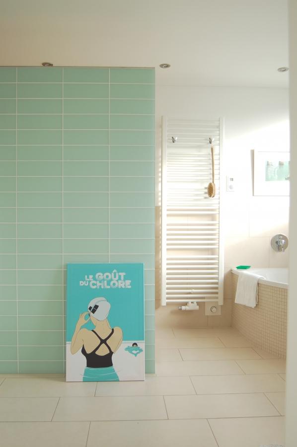 die besten ideen f r die wandgestaltung im badezimmer. Black Bedroom Furniture Sets. Home Design Ideas