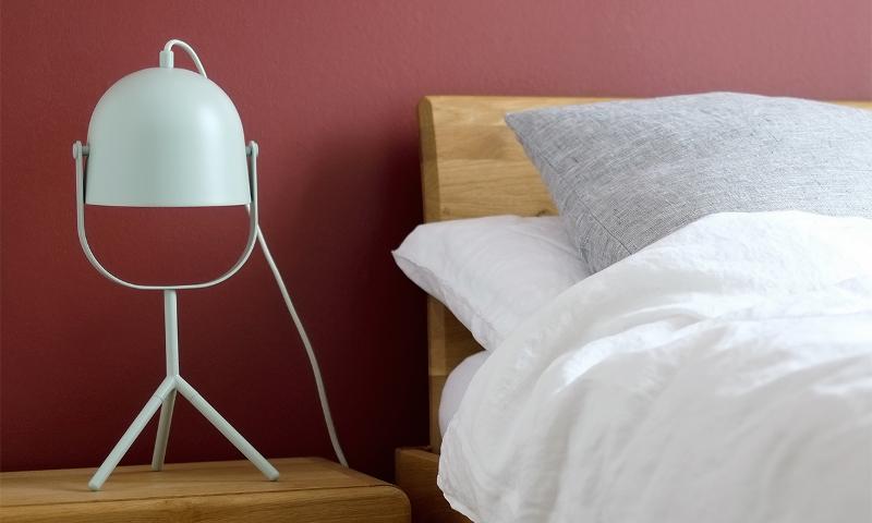 Schlafzimmer ideen zum einrichten gestalten - Rotes schlafzimmer ...