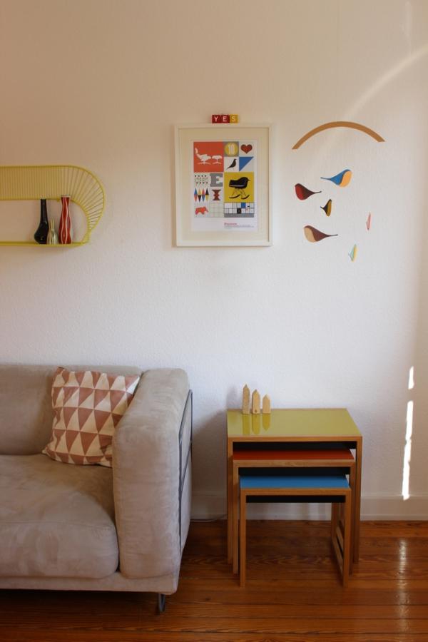Die Nesting Tables von Josef Albers
