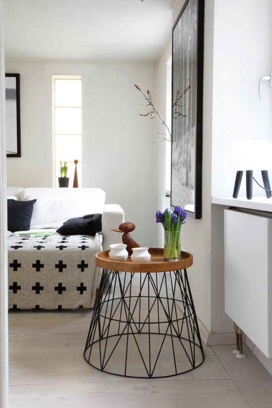 Wohnideen mit dem ferm living wire basket - Dekotipps schlafzimmer ...