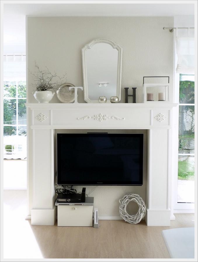 die sch nsten ideen f r deine kaminkonsole. Black Bedroom Furniture Sets. Home Design Ideas