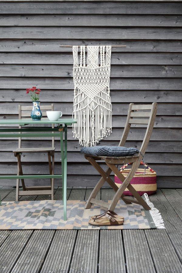 makramee ideen zum dekorieren und einrichten. Black Bedroom Furniture Sets. Home Design Ideas