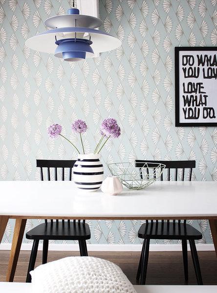 lust auf muster wunderbare wandgestaltungsideen mit tapeten. Black Bedroom Furniture Sets. Home Design Ideas