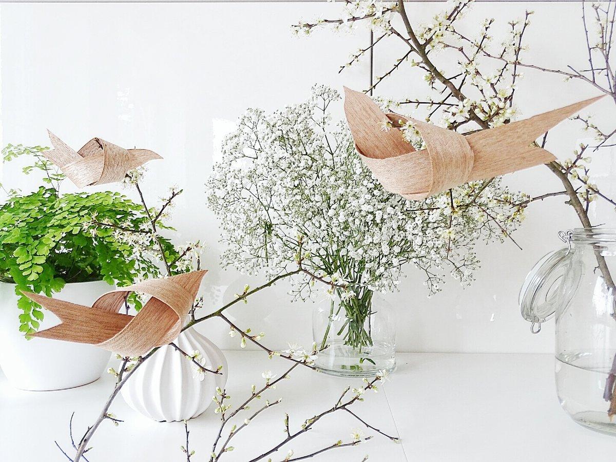 Frühlings DIY: Vögel Aus Furnier Von Mammilade