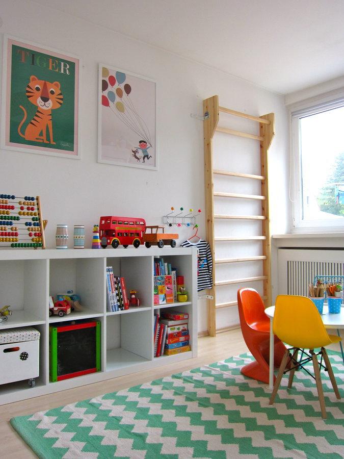 Kinderteppich Vor Kinderbett Kinderteppich Im Kinderzimmer