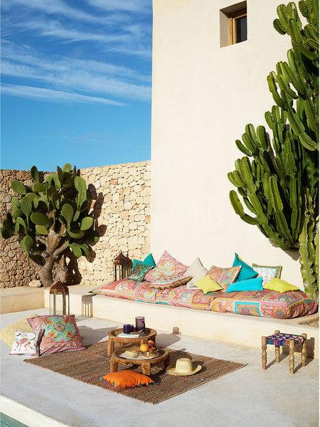 sommerfeeling pur der boho look f r balkon und garten. Black Bedroom Furniture Sets. Home Design Ideas