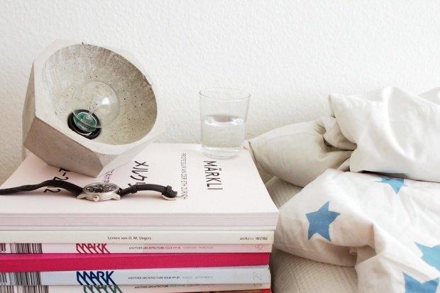 Wohnaccessoires aus beton  Wohnen mit Beton: Lampen, Vasen und andere Wohnaccessoires aus ...