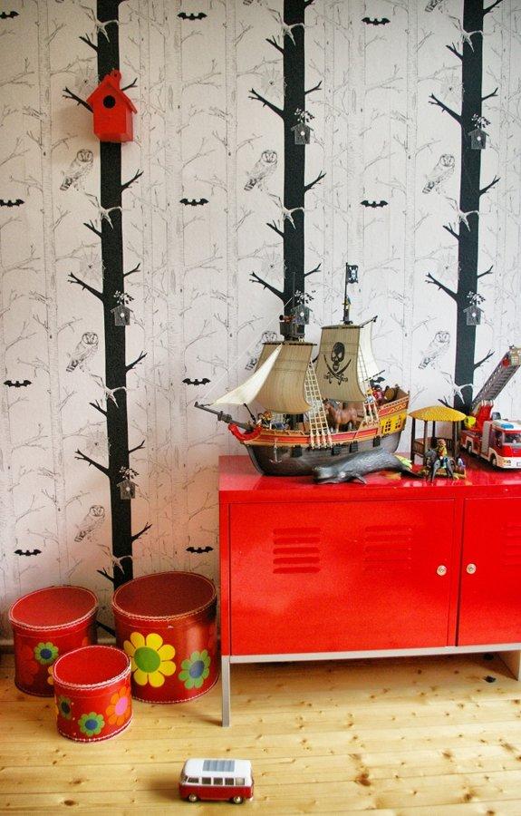 Wunderbar Baum Und Bäumchen: Fabelhafte Wandgestaltung (nicht Nur) Im Kinderzimmer