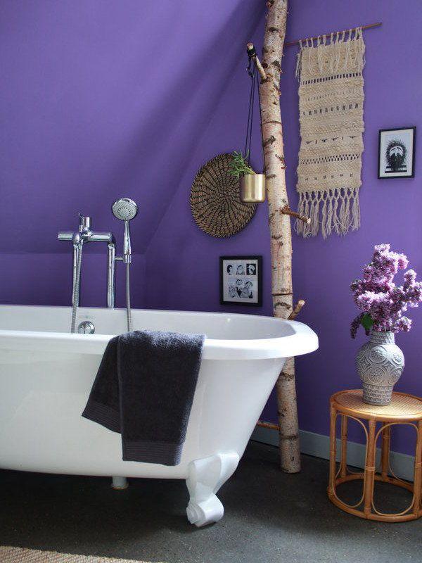 ultra violet ist die pantone farbe 2018 und somit auch ein trend f r zu hause. Black Bedroom Furniture Sets. Home Design Ideas