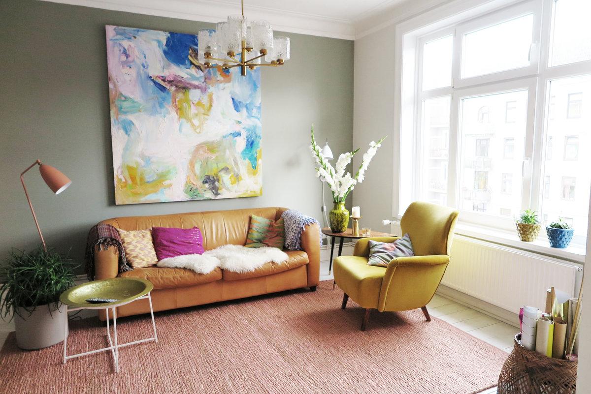 Wenn mir langweilig wird tausche ich Zimmer, streiche oder dekoriere ...