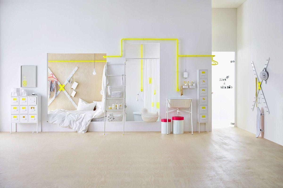 Neue designkollektion ikea sprutt for Jugendzimmer modern einrichten