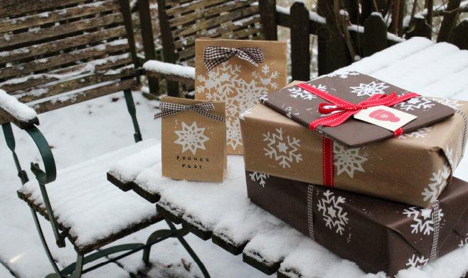 weihnachtsgeschenke sch n verpacken. Black Bedroom Furniture Sets. Home Design Ideas